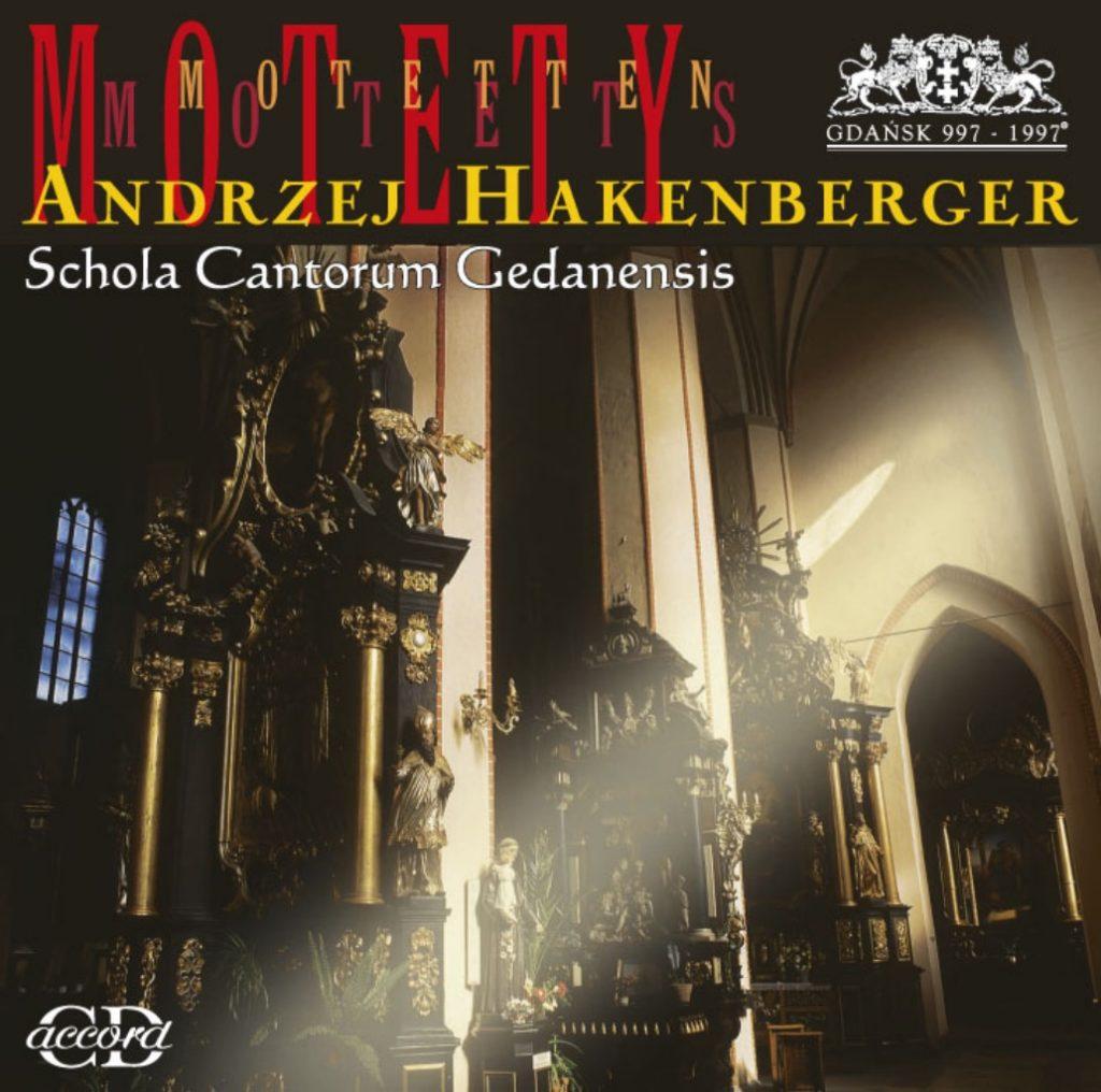 okładka płyty Hakenberger - Motety