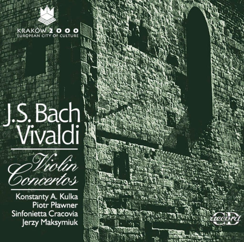 okładka płyty Bach, Vivaldi - Koncerty skrzypcowe