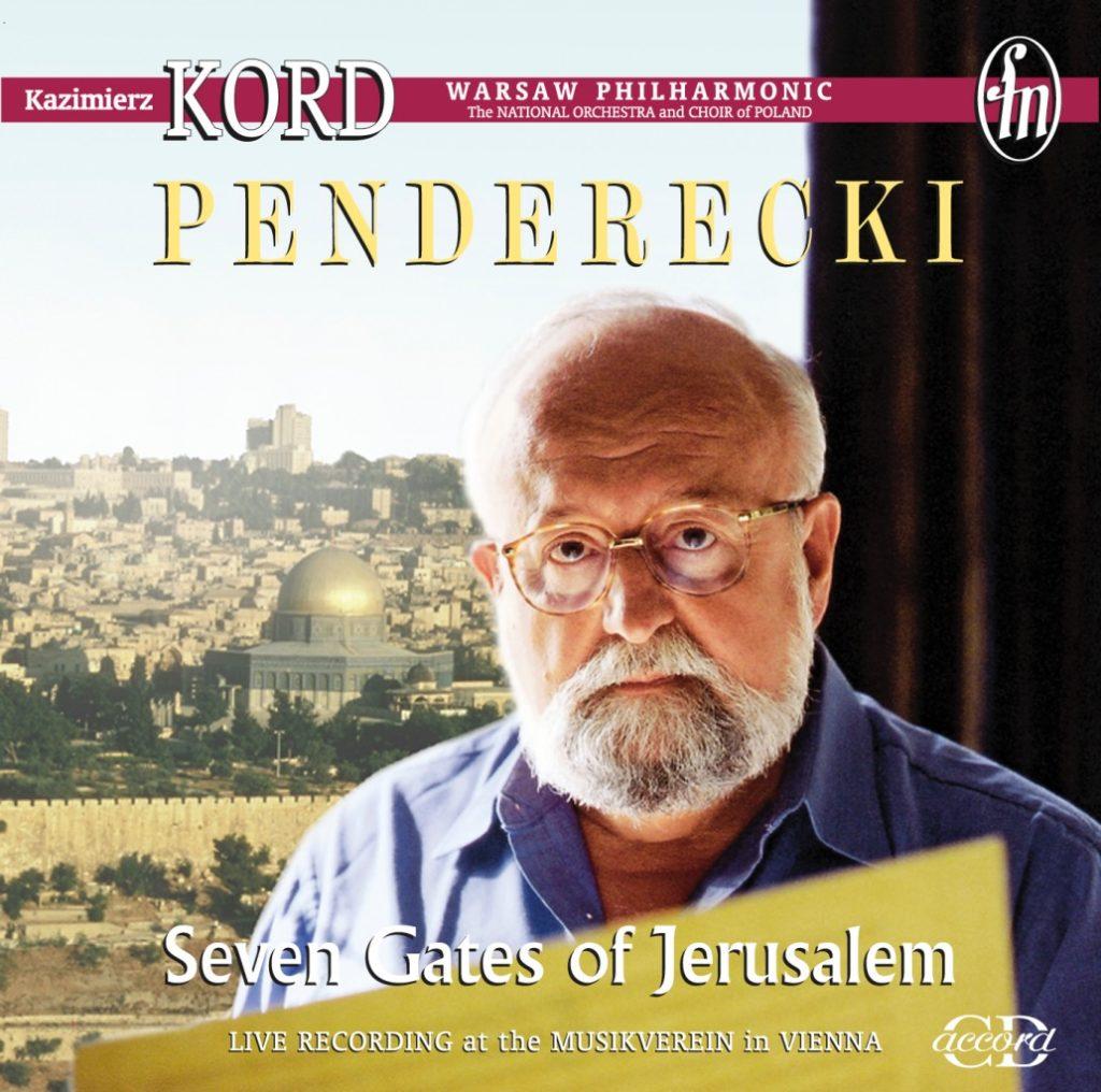 okładka płyty Krzysztof Penderecki - Siedem Bram Jerozolimy