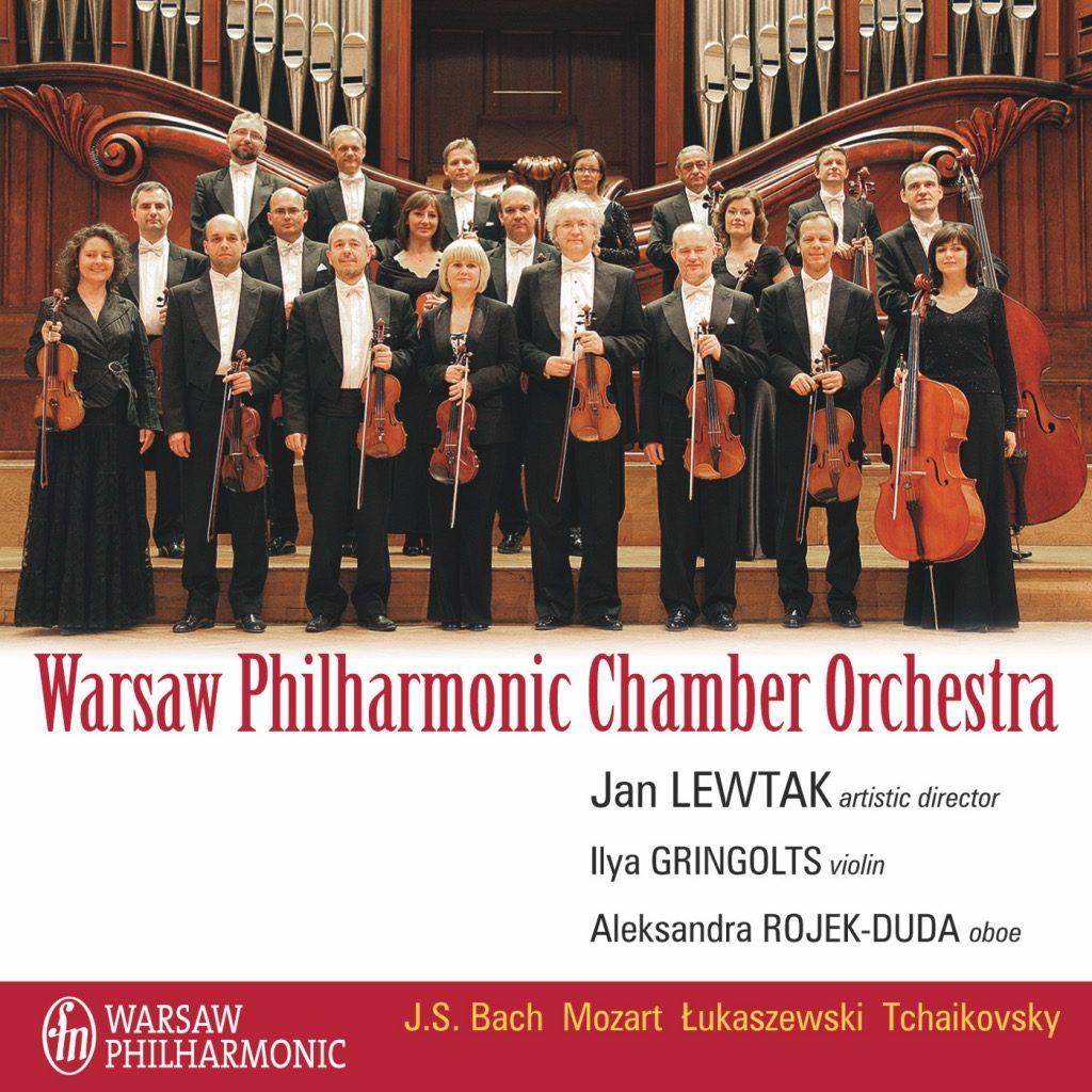 okładka płyty Warsaw Philharmonic Chamber Orchestra