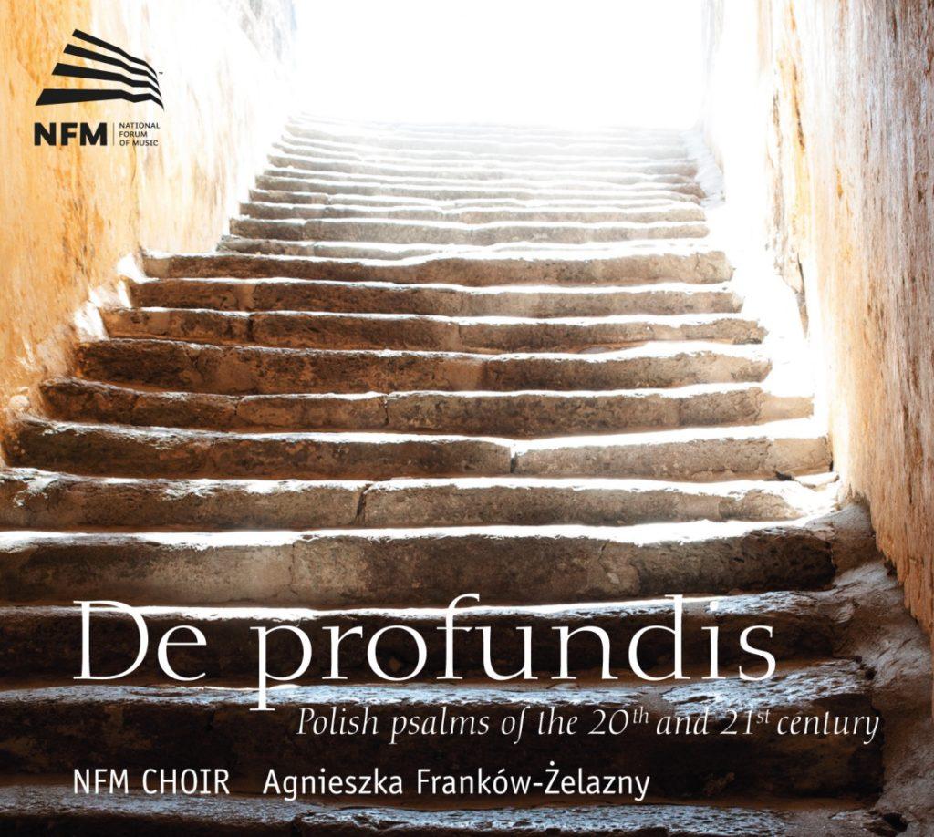 okładka płyty De profundis – Polskie psalmy XX i XXI wieku