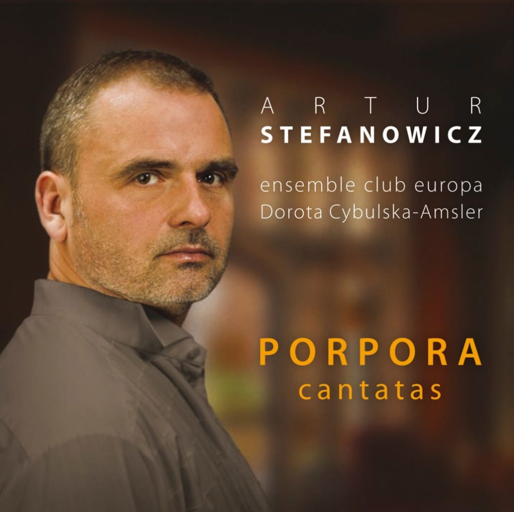 okładka płyty Porpora cantatas
