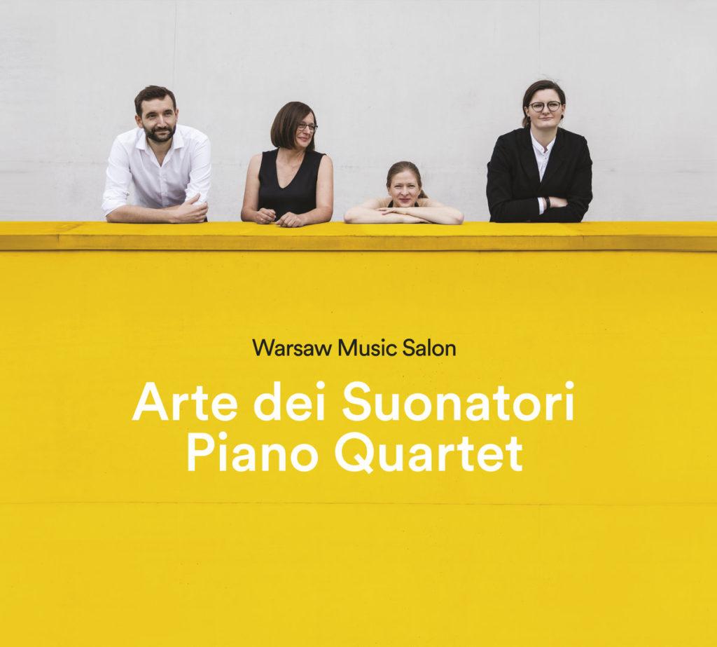 Okładka płyty Warsaw Music Salon