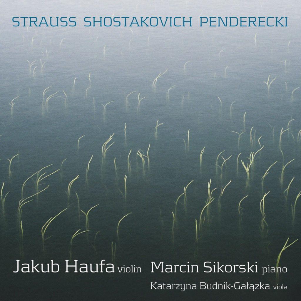 okładka płyty Violin Sonatas