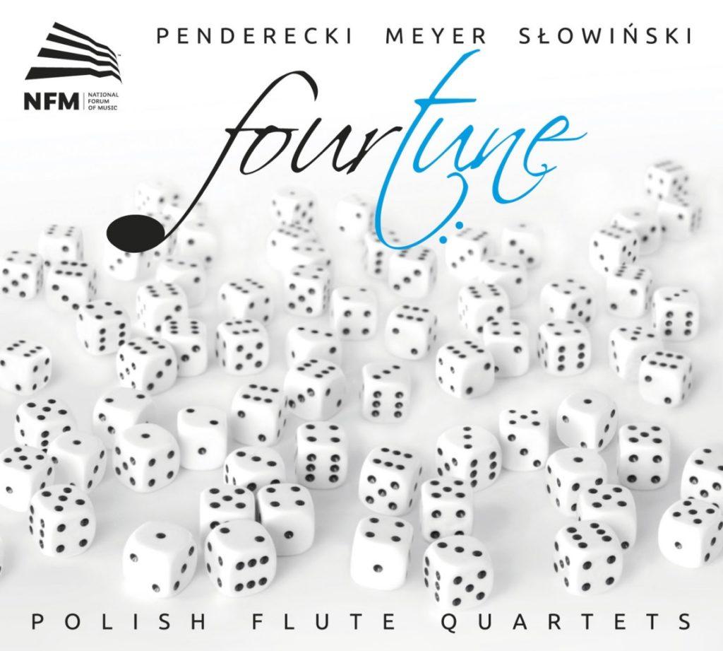 okładka płyty Polish Flute Quartets