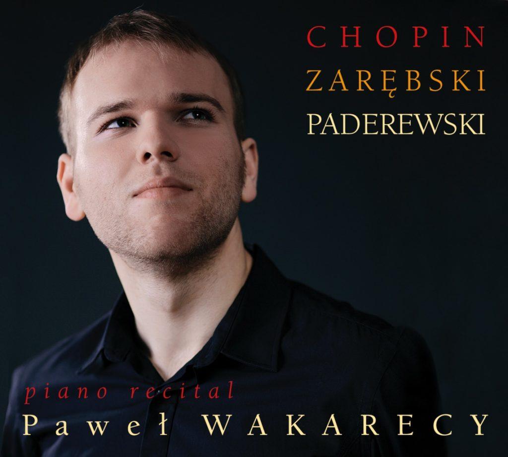 okładka płyty Pawel Wakarecy - Piano Recital