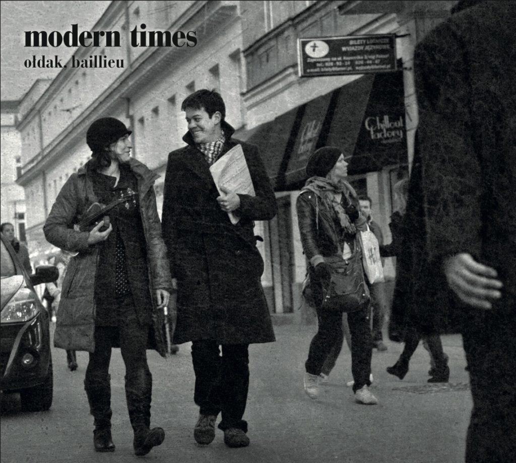 okładka płyty Modern Times