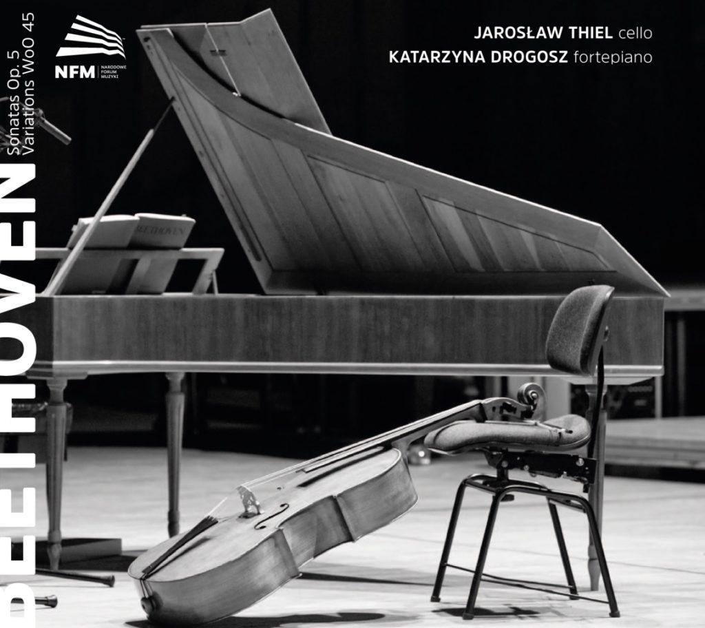 okładka płyty Beethoven – Sonatas Op. 5, Variations WoO 45
