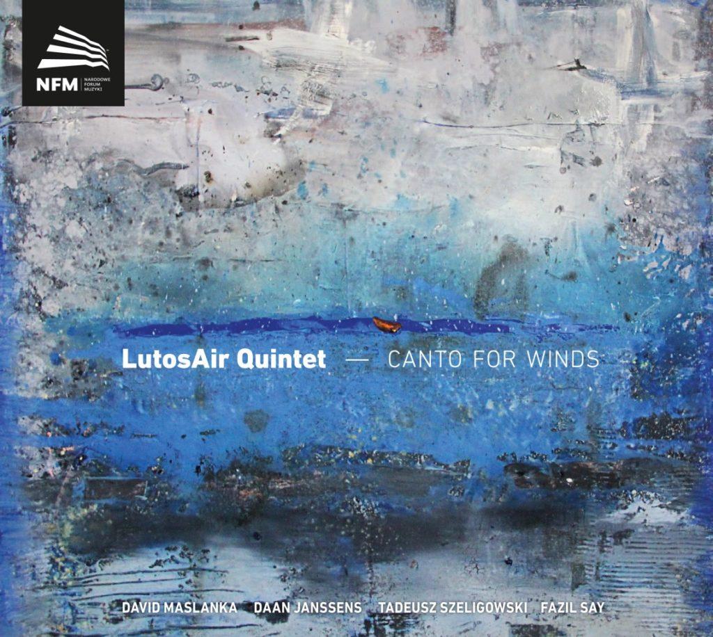 okładka płyty LutosAir Quintet – Canto for Winds