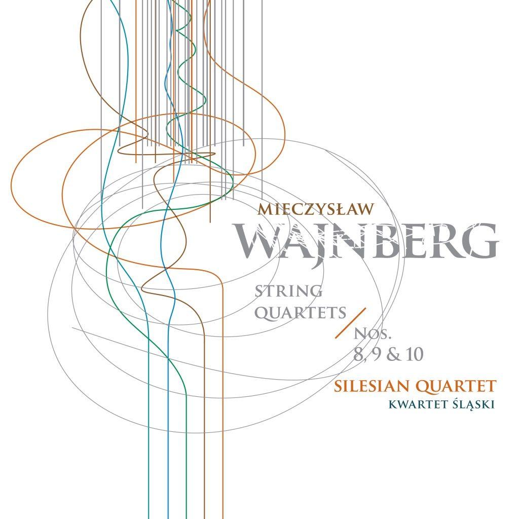 Okładka płyty Mieczysław Wajnberg string quartet