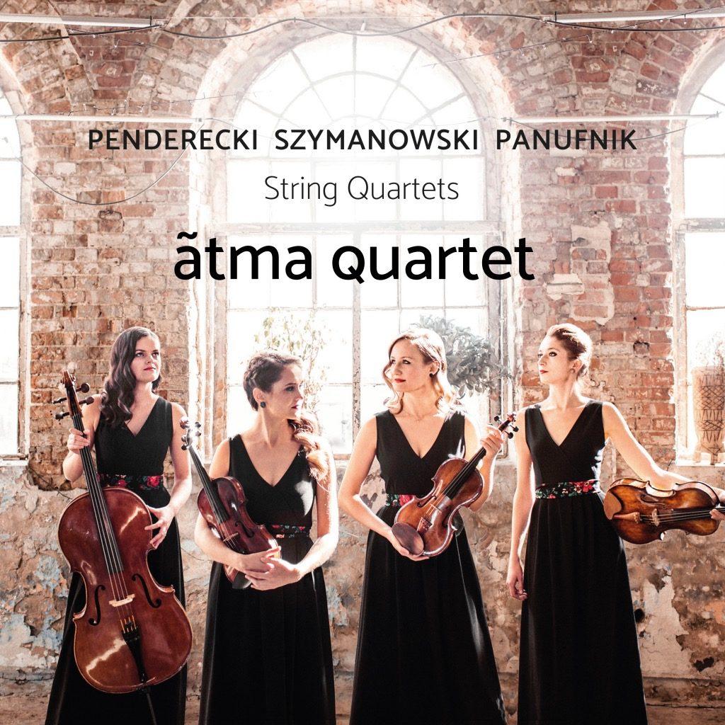 okładka płyty Ãtma Quartet – String Quartets