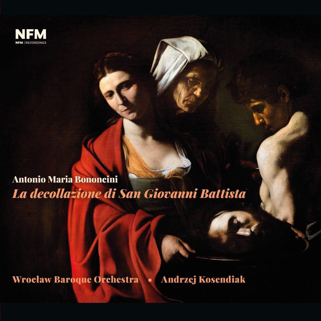 okładka płyty Bononcini – La decollazione di San Giovanni Battista