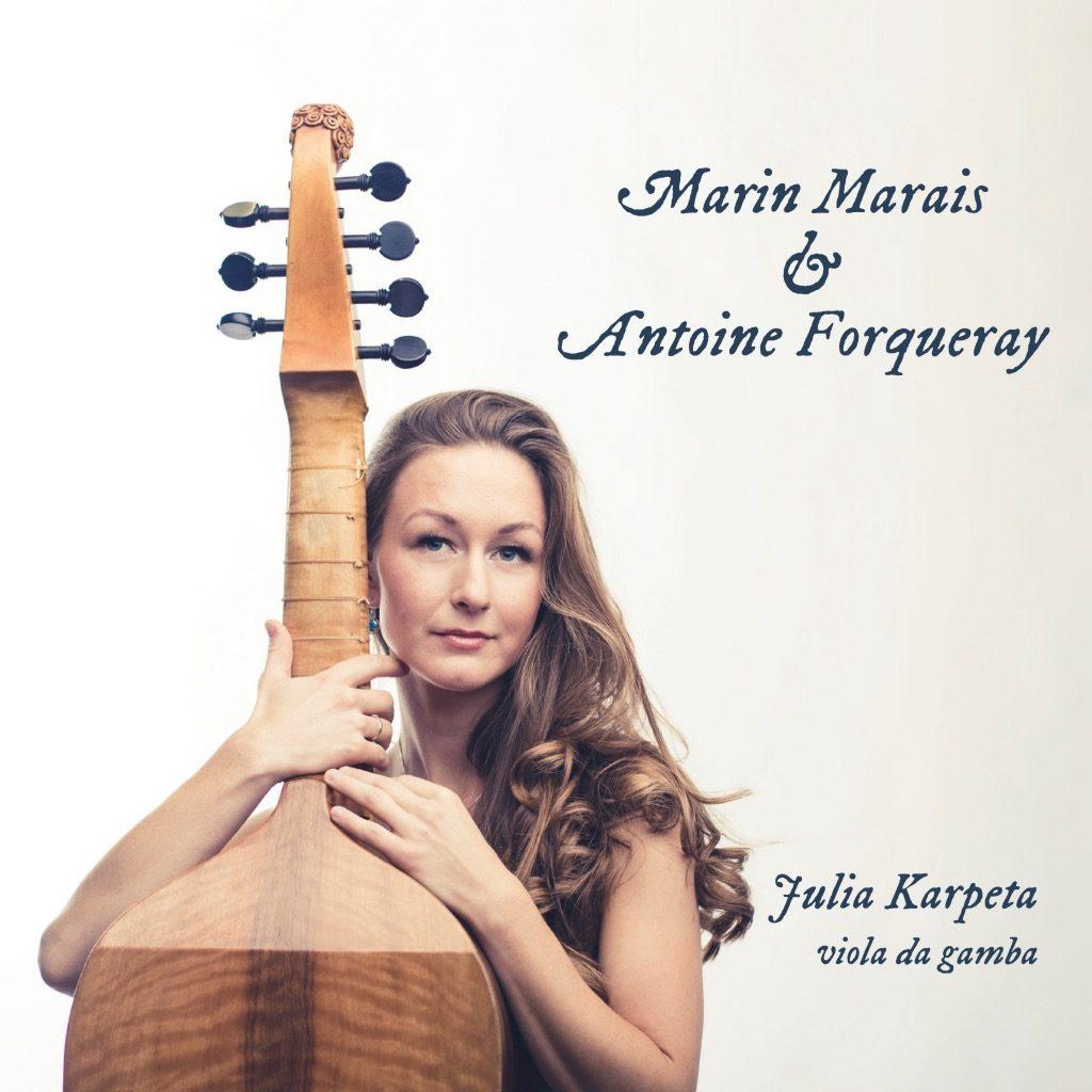 tytuł płyty Marin Marais, Antoine Forqueray