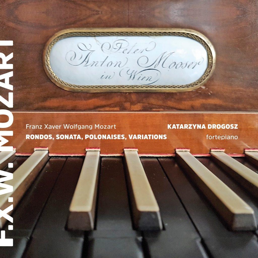 okładka płyty F. X. W. Mozart – Katarzyna Drogosz – fortepiano