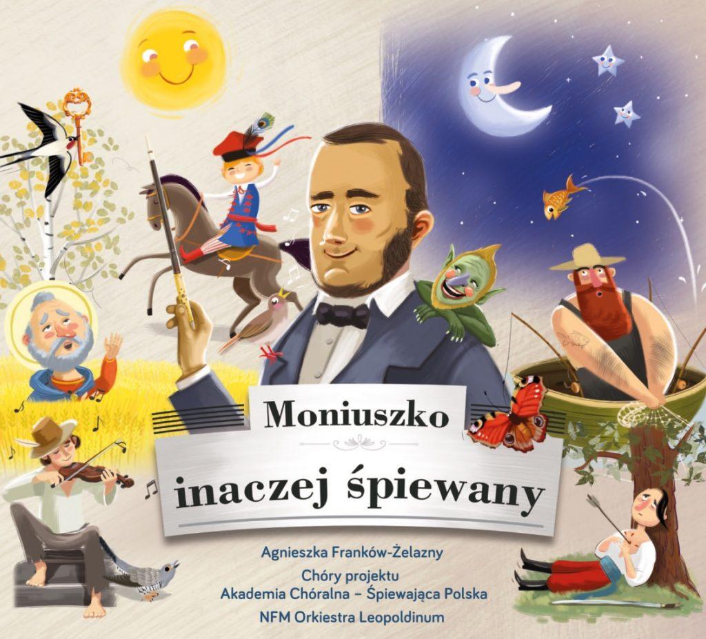 okładka płyty Moniuszko Inaczej Śpiewany