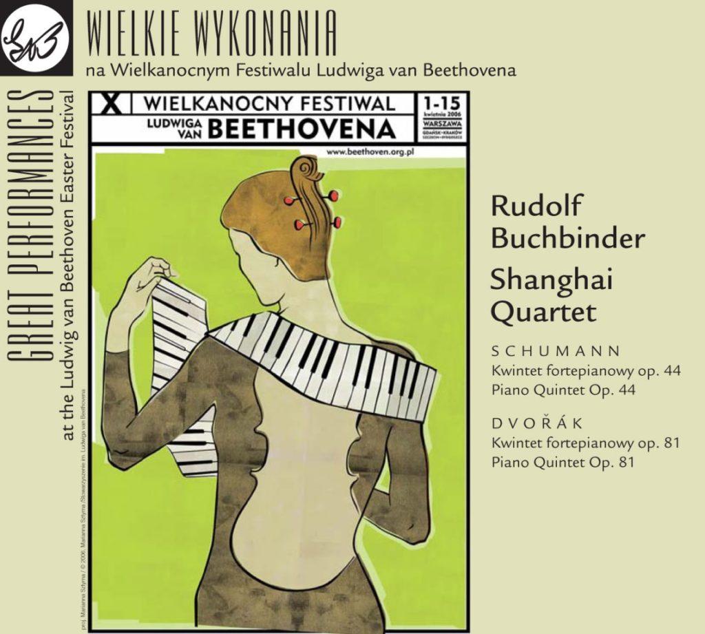 okładka płyty Piano Quintetes