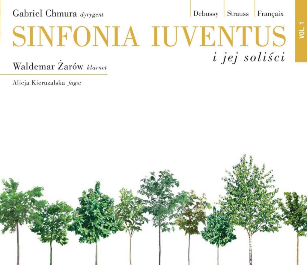 okładka płyty Sinfonia Iuventus and soloists