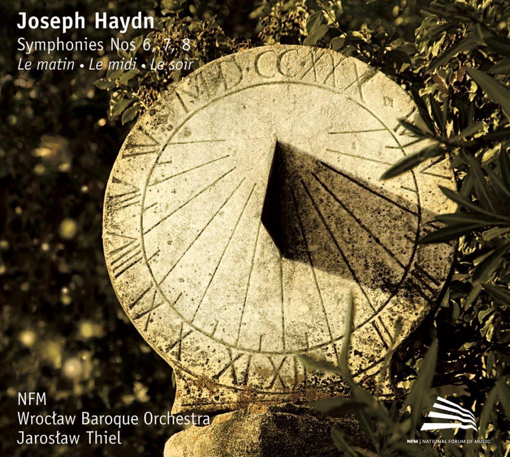 okładka płyty Haydn - Symphonies no. 6,7,8