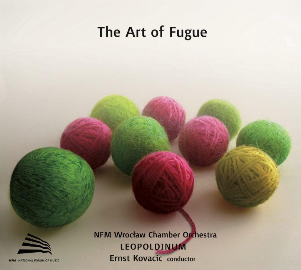 okładka płyty The Art of Fugue
