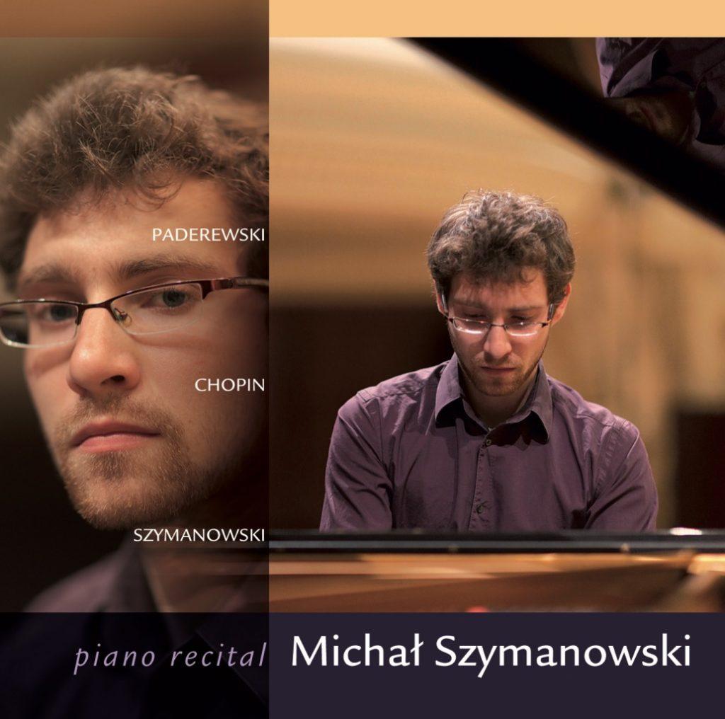 okładka płyty Piano recital - Michał Szymanowski