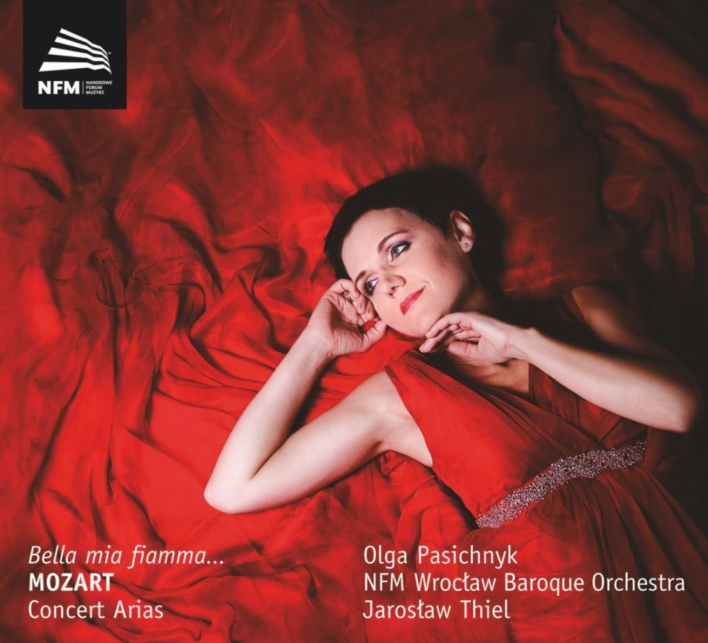 "okładka płyty ""Bella mia fiamma"" Concert Arias"