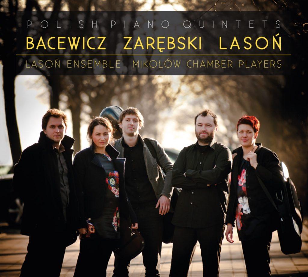 okładka płyty Polish Piano Quintets
