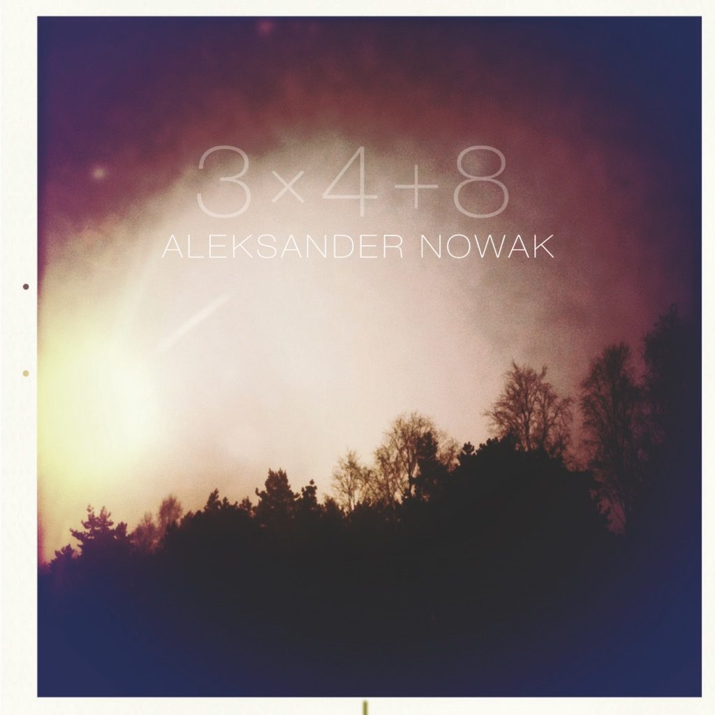 okładka płyty 3+4+8 Aleksander Nowak