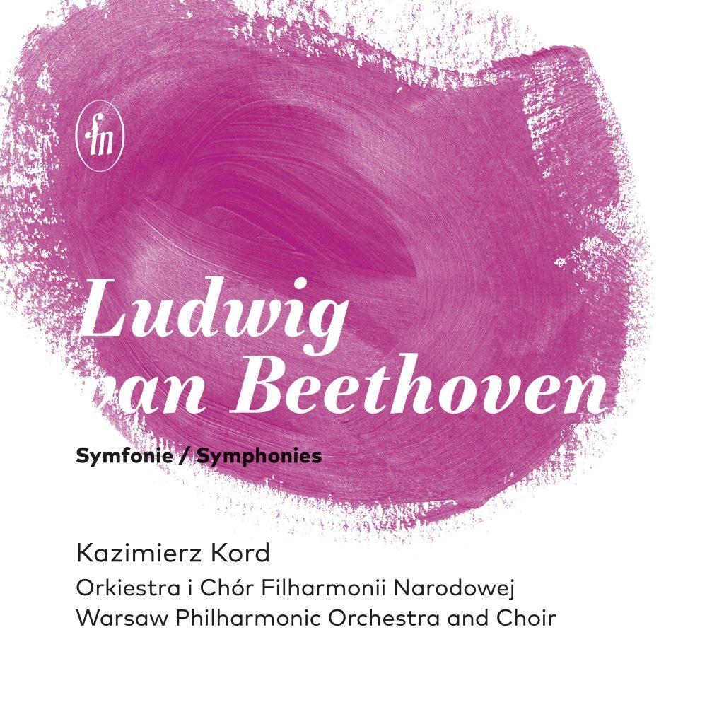 okładka płyty Beethoven - Symfonie