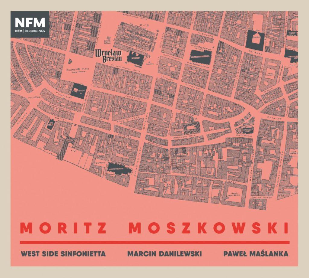 okładka płyty Moritz Moszkowski