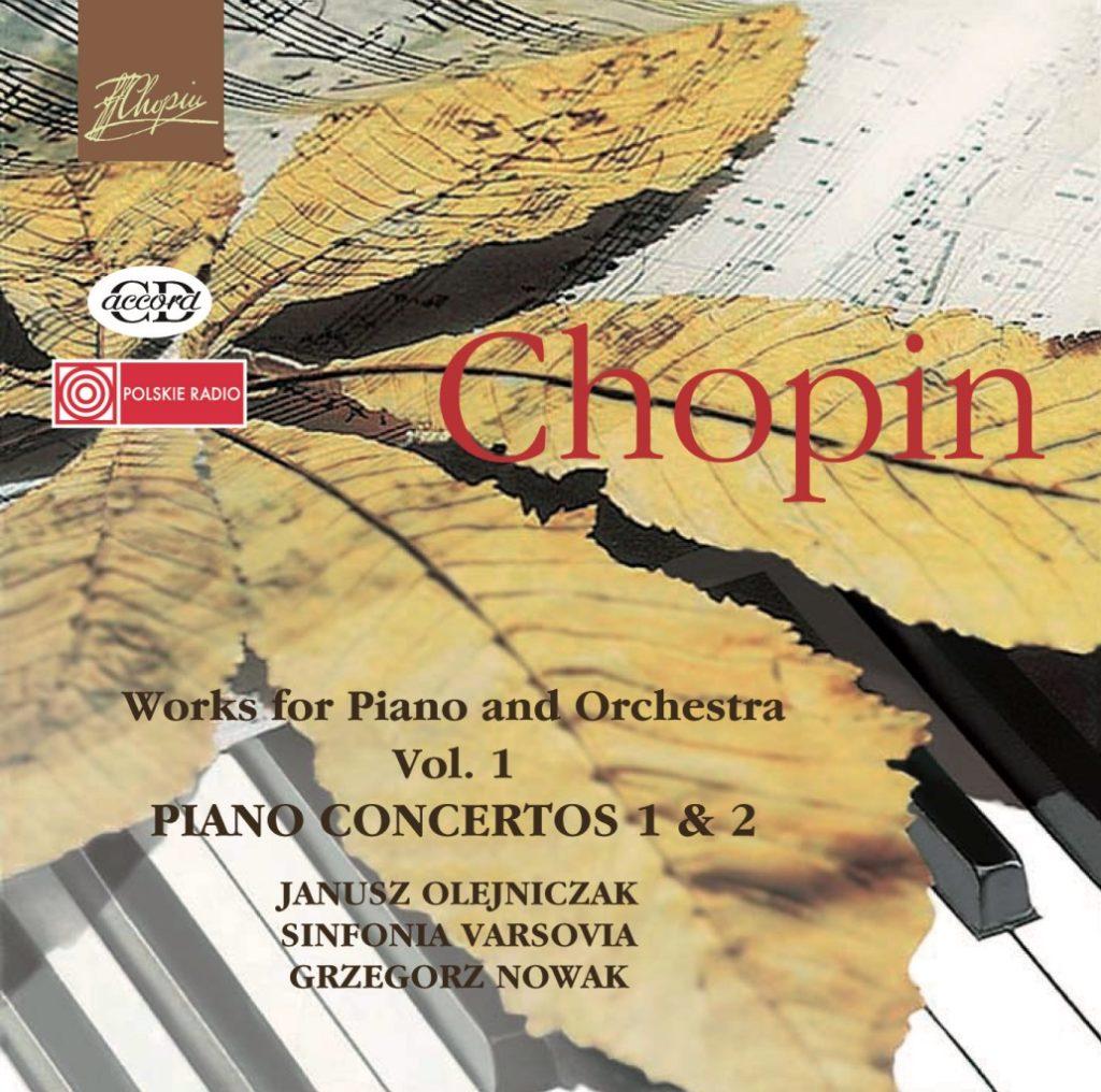 okładka płyty Chopin - Koncerty fortepianowe