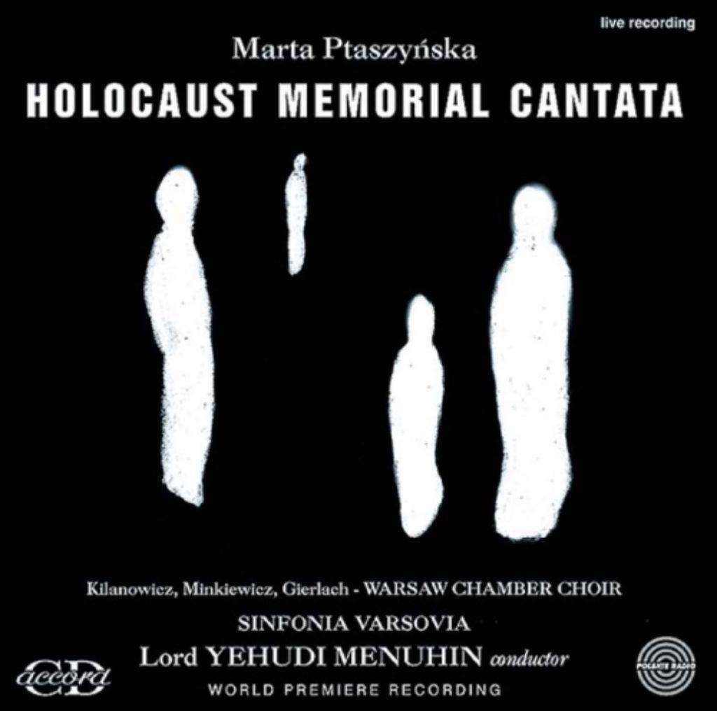 okładka płyty Holocaust Memorial Cantata