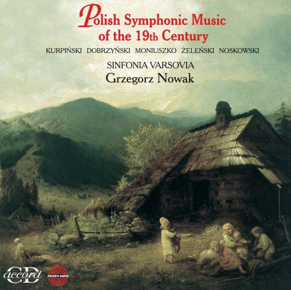 okładka płyty Polska muzyka symfoniczna XIX wieku