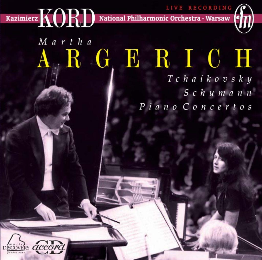 okładka płyty Martha Argerich w Filharmonii Narodowej
