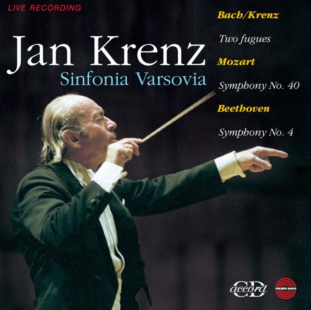 okładka płyty Jan Krenz