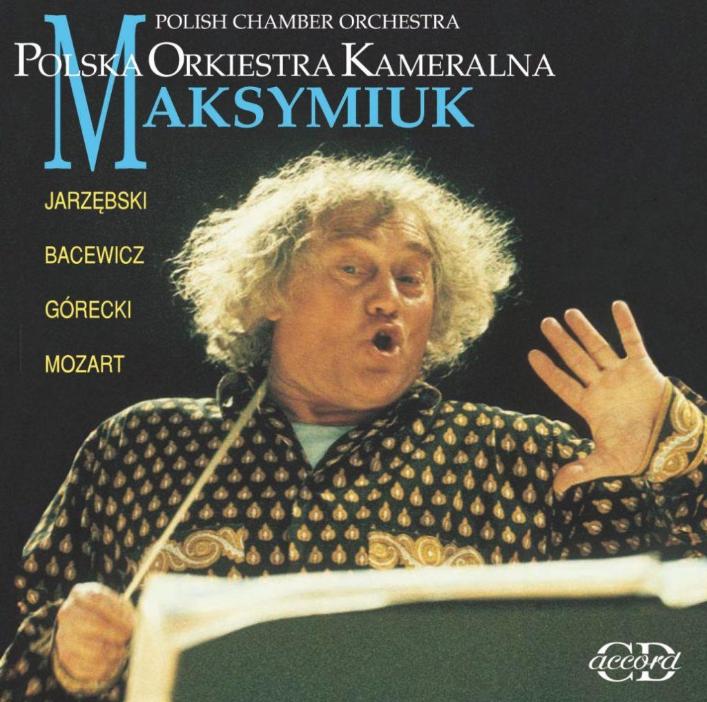 okładka płyty Jerzy Maksymiuk - portret