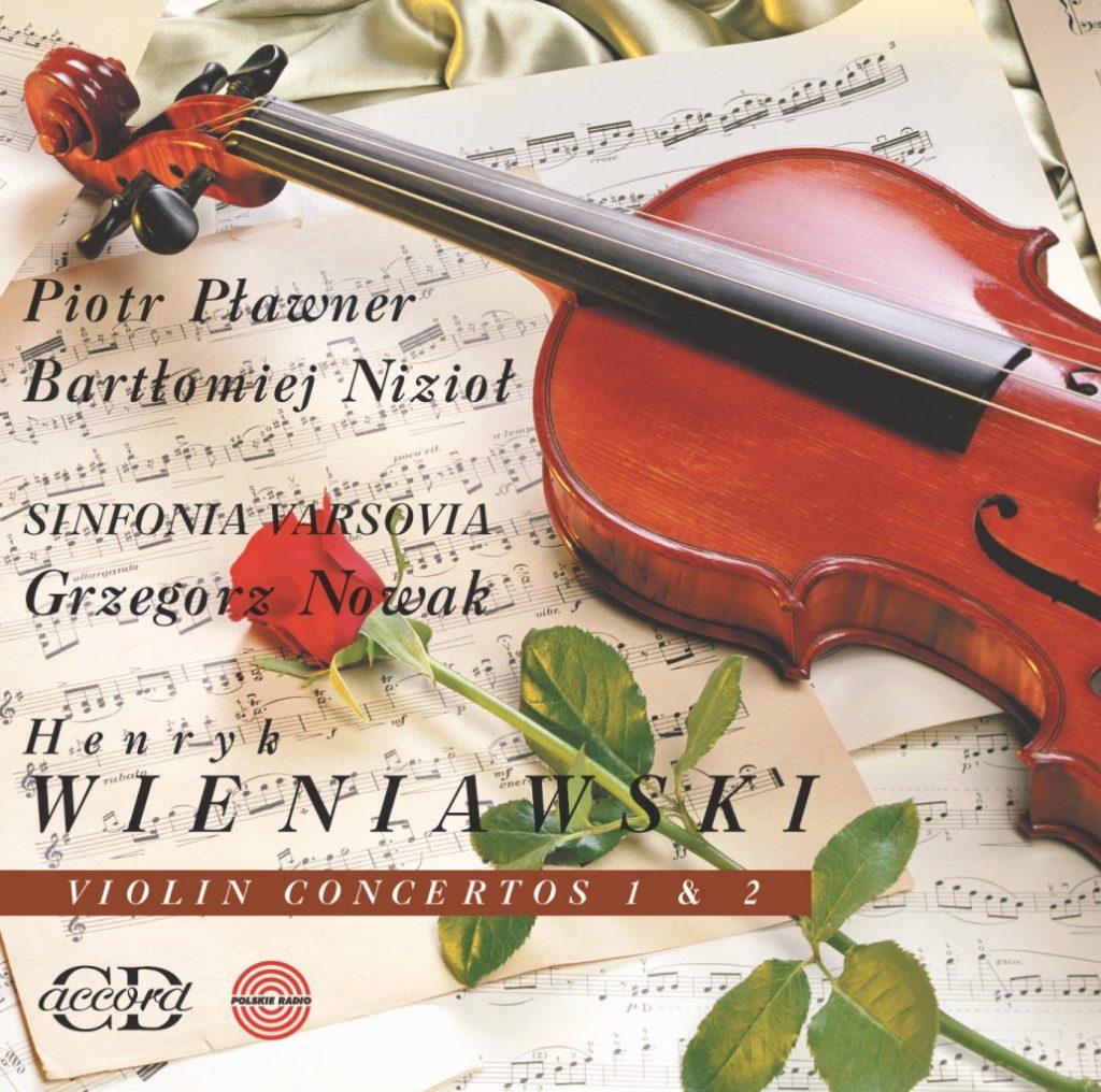 okładka płyty Henryk Wieniawski - Koncerty Skrzypcowe