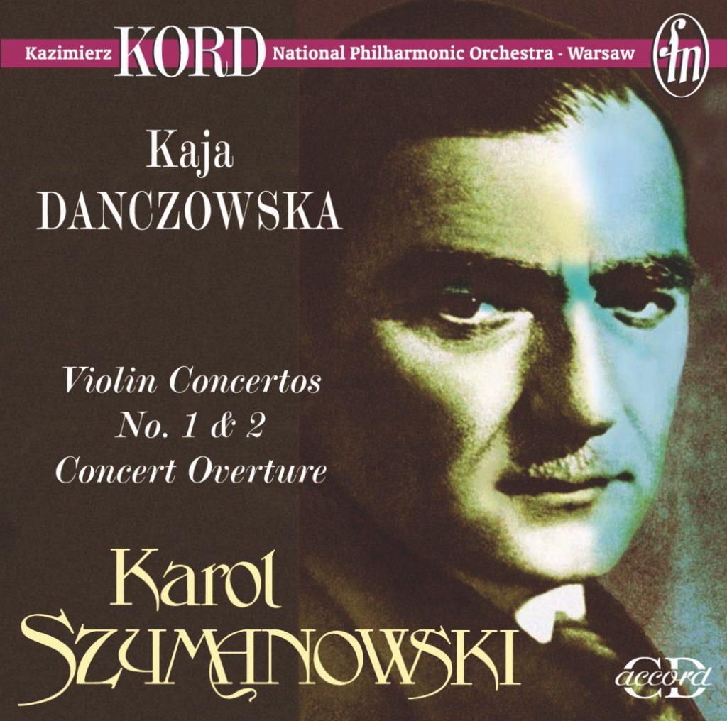 okładka płyty Karol Szymanowski - Koncerty Skrzypcowe, Uwertura koncertowa