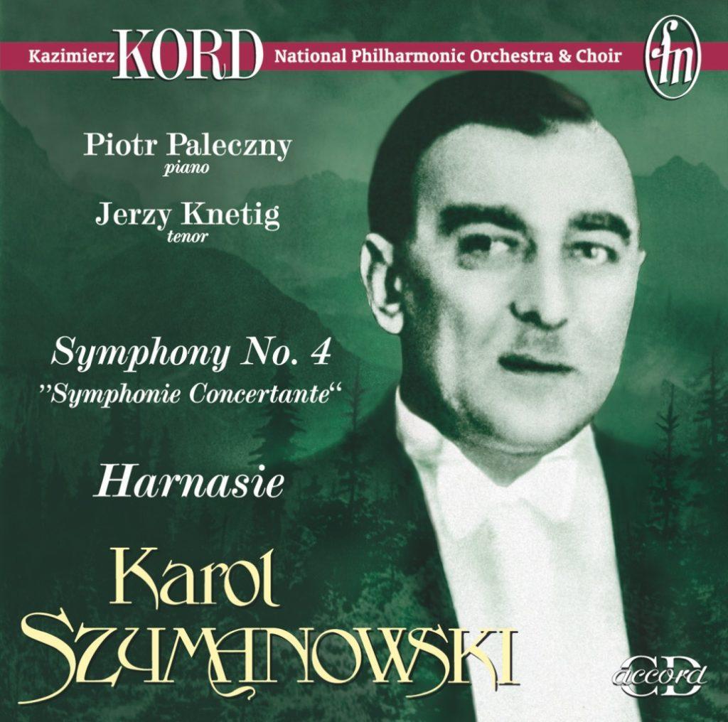 okładka płyty Szymanowski - IV Symfonia Concertante Harnasie