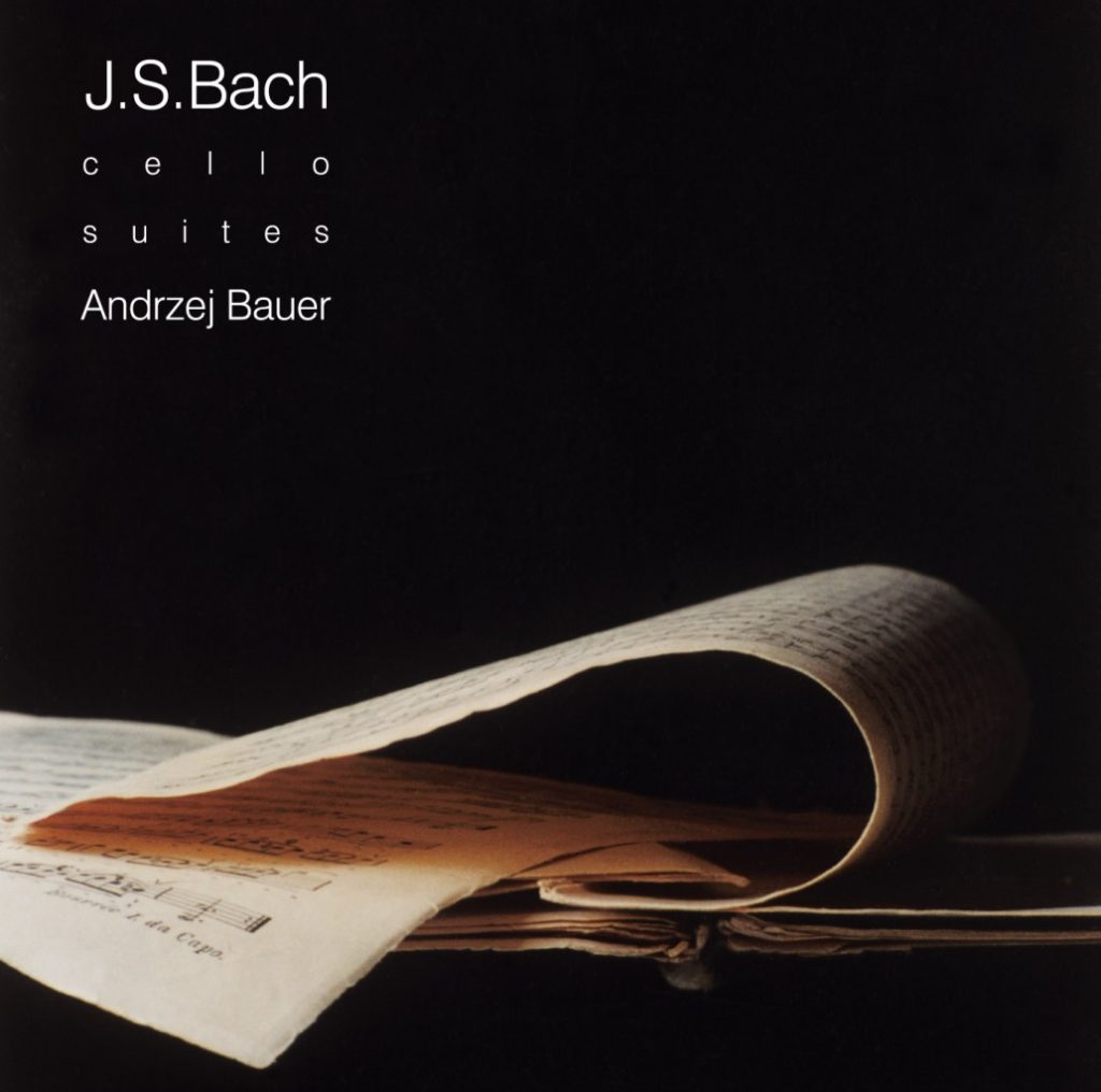 Okładka płyty Bach - Suity na wiolonczelę solo
