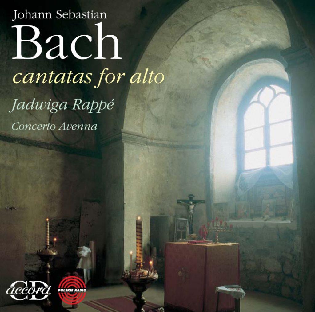 okładka płyty Bach - Kantaty altowe