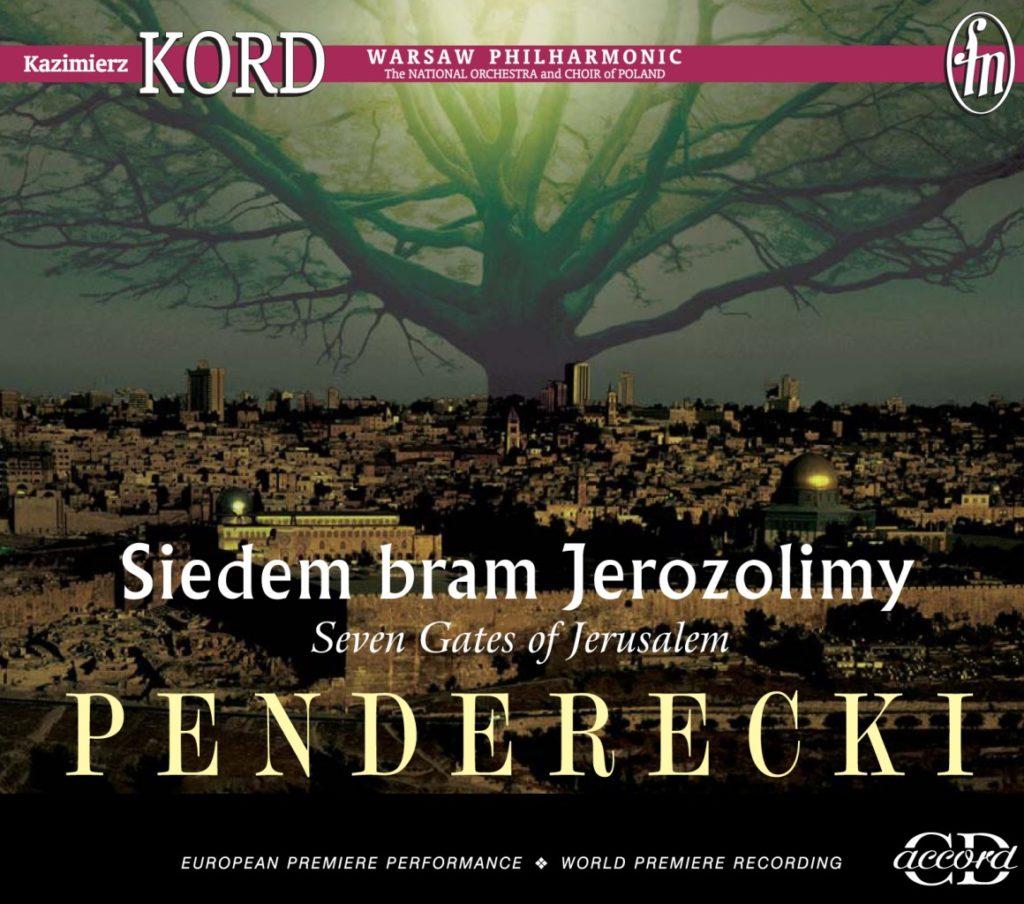 okładka płyty Penderecki - Siedem Bram Jerozolimy