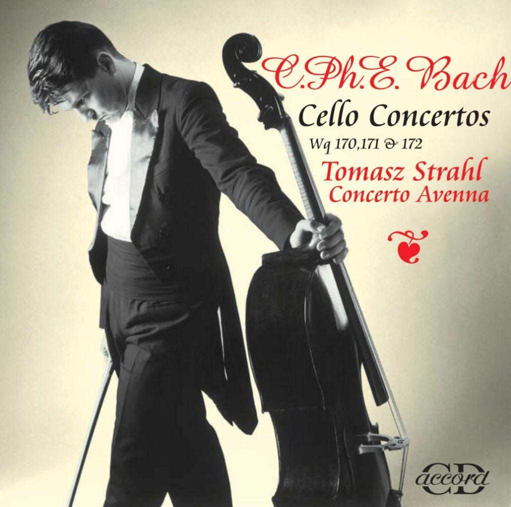 okładka płyty C. Ph. E. Bach - Koncerty wiolonczelowe