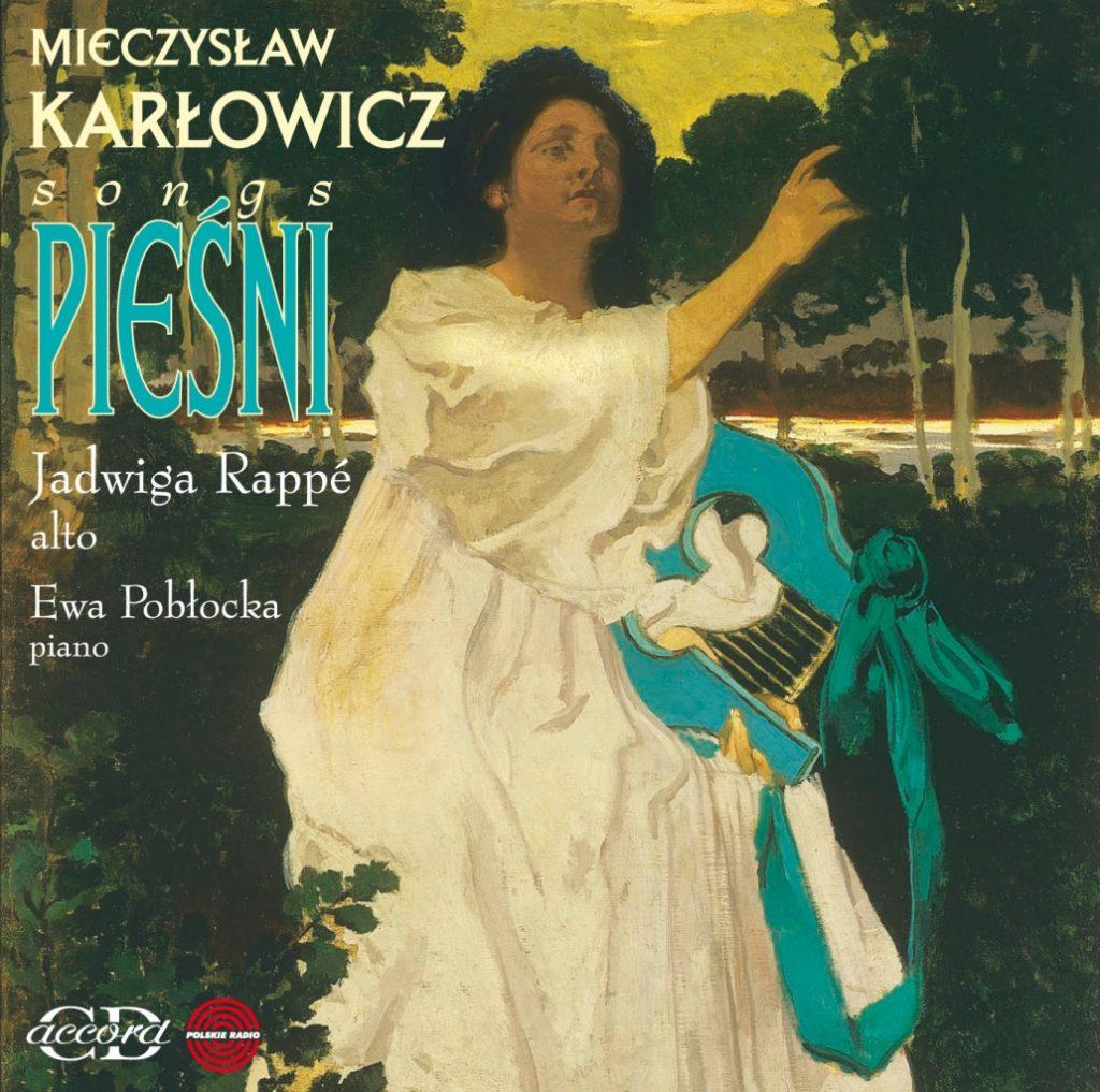 okładka płyty Mieczysław Karłowicz - Pieśni