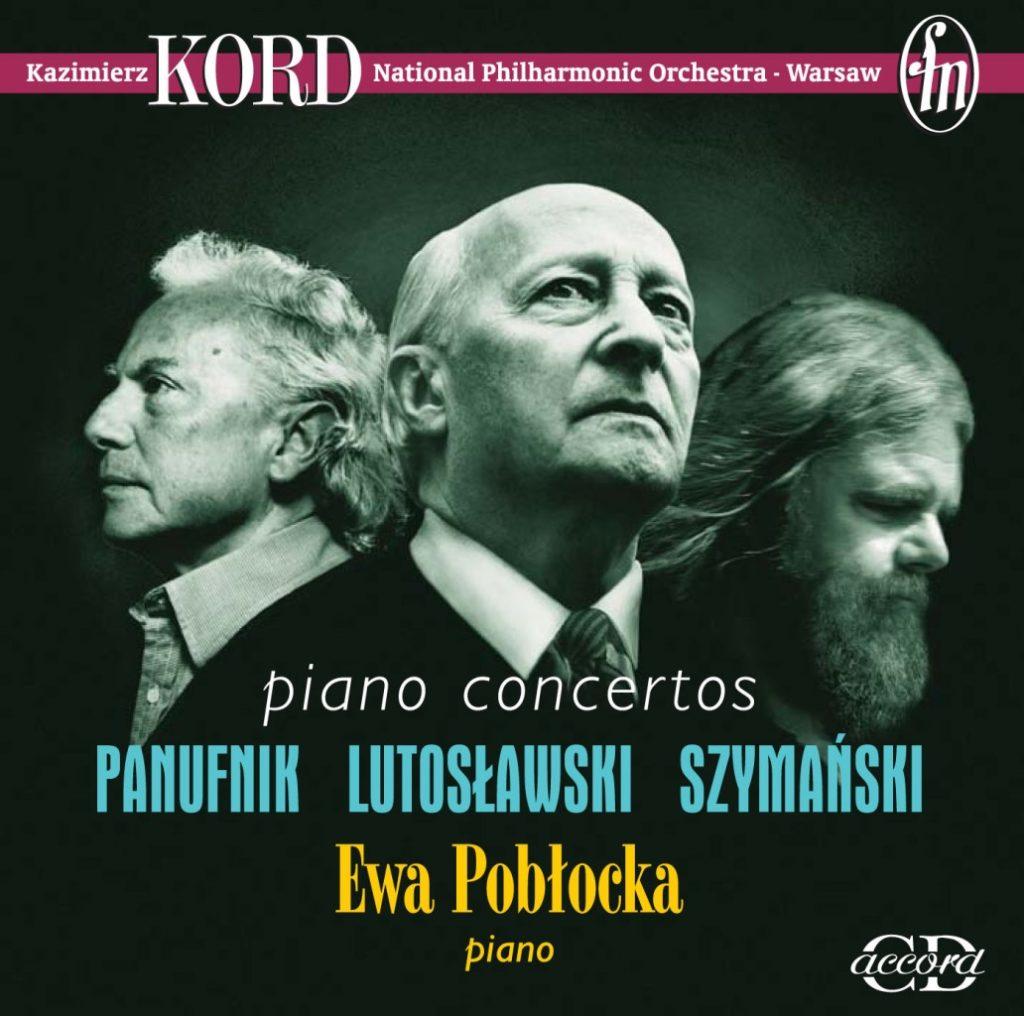 okładka płyty Polskie Koncerty fortepianowe XX wieku
