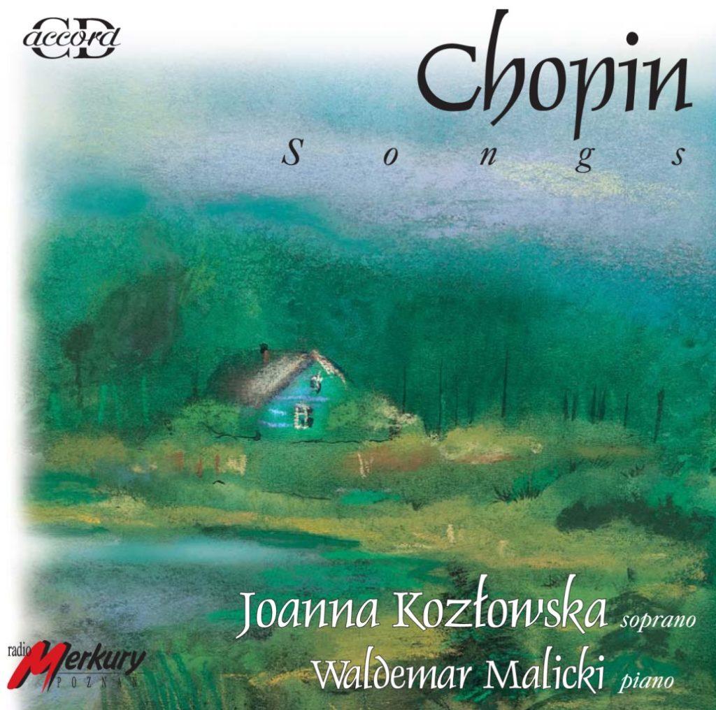 okładka płyty Chopin - Pieśni