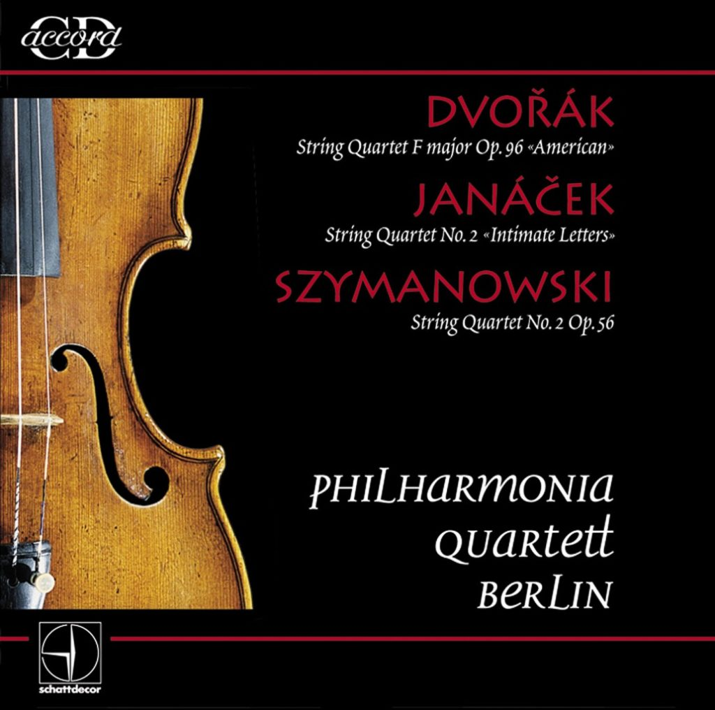 okładka płyty Philharmonia Quartet Berlin