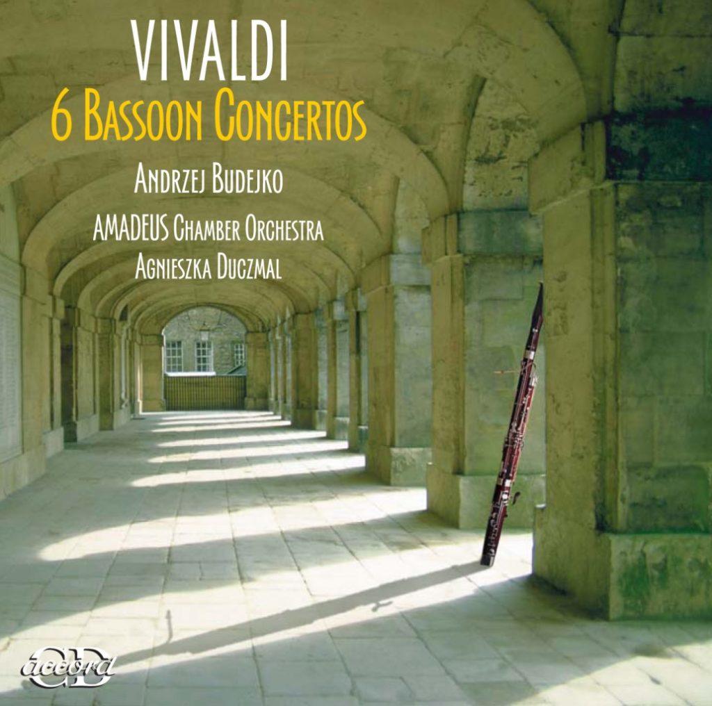 okładka płyty Koncerty na fagot,smyczki i basso continuo