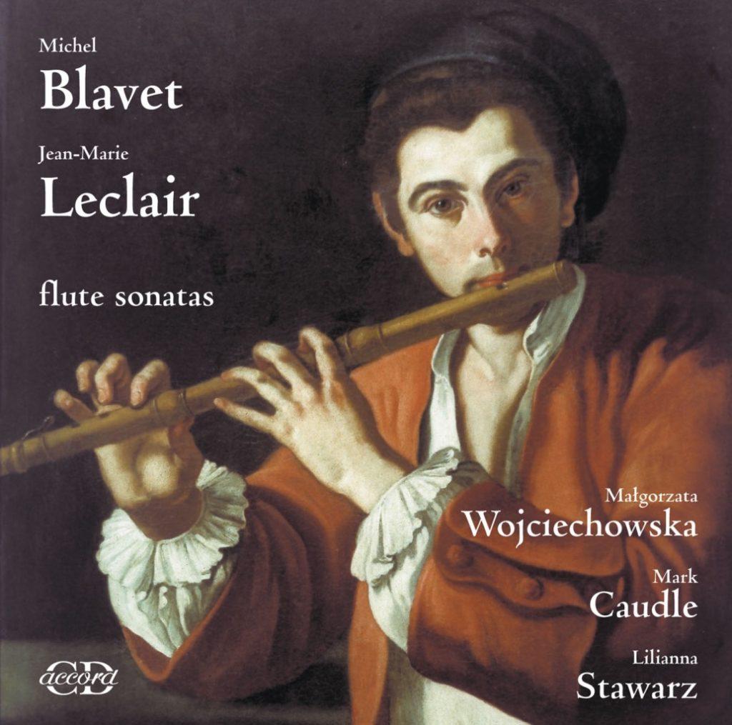 okładka płyty Blavet, Leclair - Sonaty fletowe