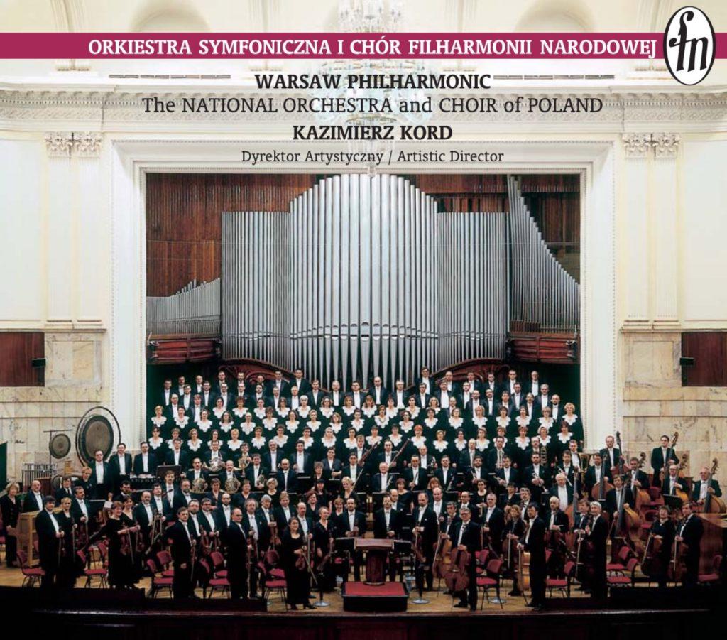 okładka płyty Filharmonia Narodowa