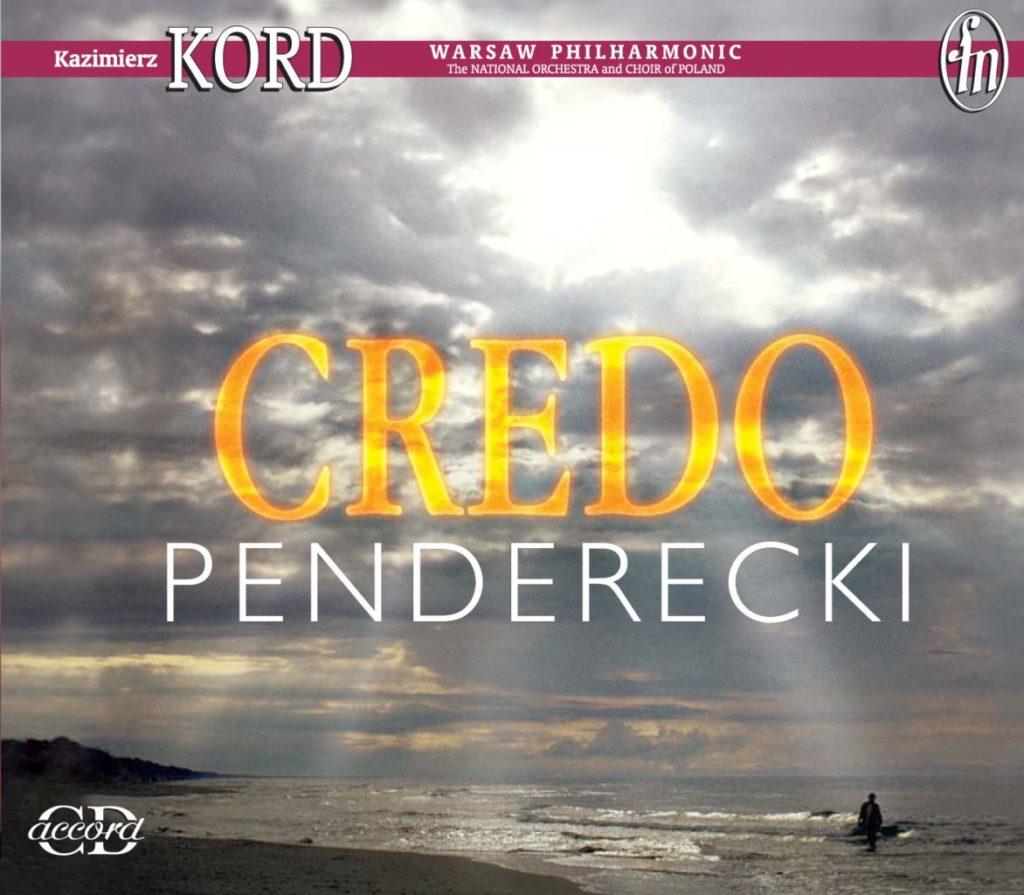 okładka płyty Krzysztof Penderecki - Credo